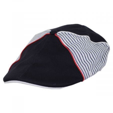 Fred Segal Striped Cotton Ivy Cap
