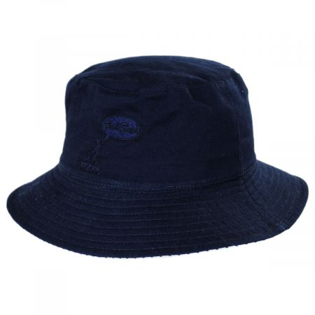 Fred Segal Reversible Cotton Blend Bucket Hat