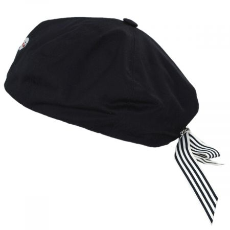 Kangol Fred Segal Removable Bow Beret