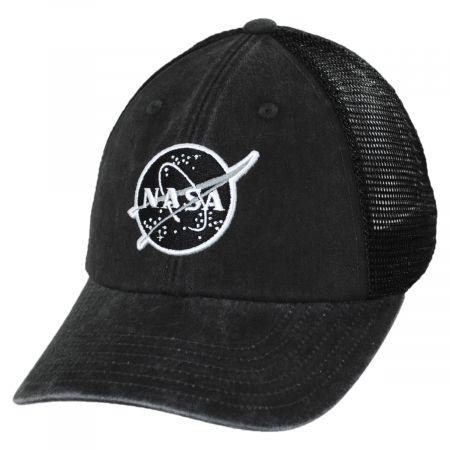 American Needle Raglan Bones NASA Trucker Baseball Cap