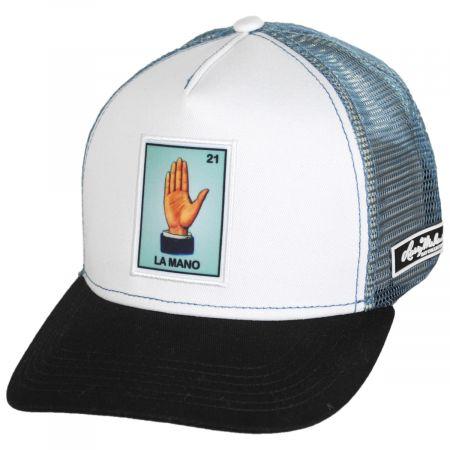 Larry Mahan Hats Loteria La Mano Snapback Trucker Baseball Cap