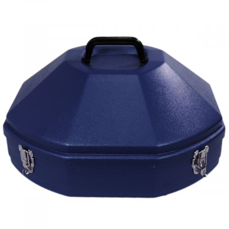 Village Hat Shop Western Hat Carrier Navy Blue