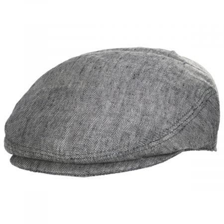 Herringbone Linen Ivy Cap alternate view 5