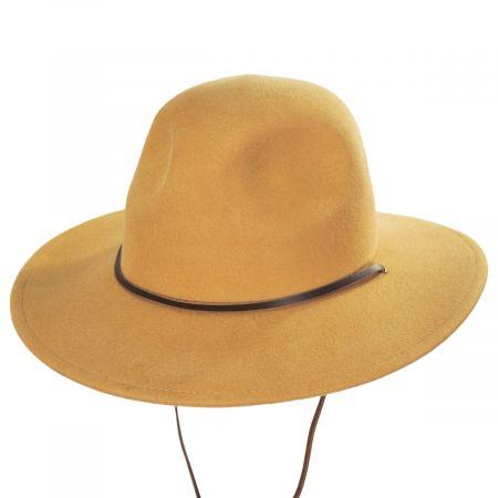 Tiller III Wool Felt Fedora Hat