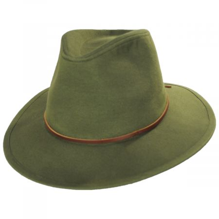 Brixton Hats Wesley Cotton Fedora Hat