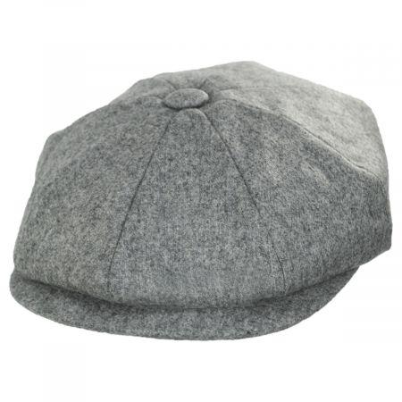 Baskerville Hat Company Clapham Italian Wool Newsboy Cap