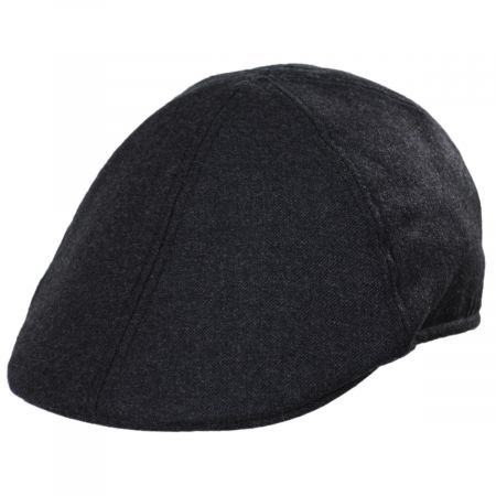 Baskerville Hat Company Mayfair Japanese Wool Duckbill Ivy Cap