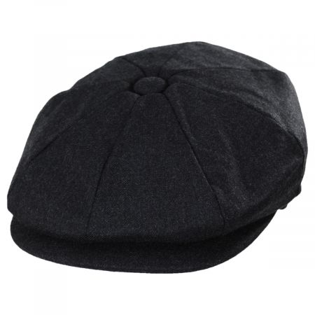 Baskerville Hat Company Putney Japanese Wool Newsboy Cap