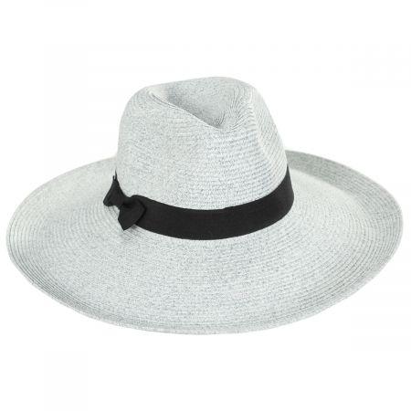 Charleston Toyo Straw Fedora Hat
