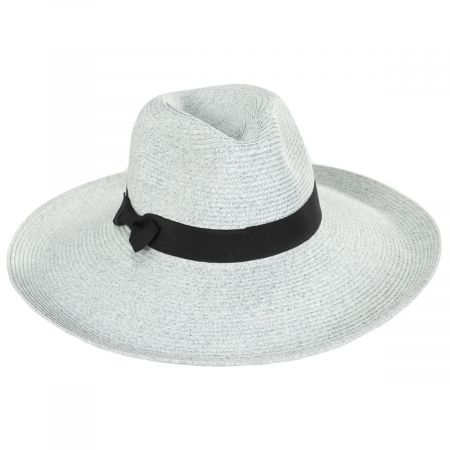 Jeanne Simmons Charleston Toyo Straw Fedora Hat