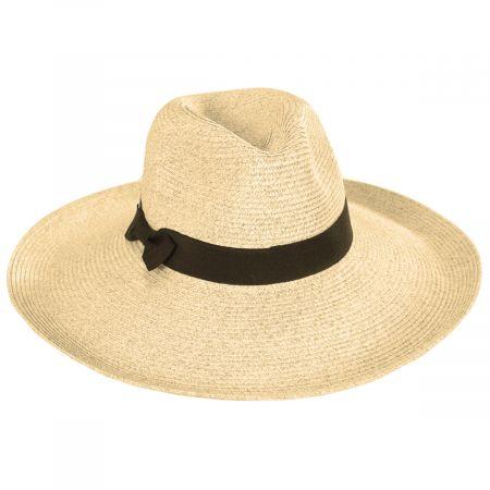 Charleston Toyo Straw Fedora Hat alternate view 5
