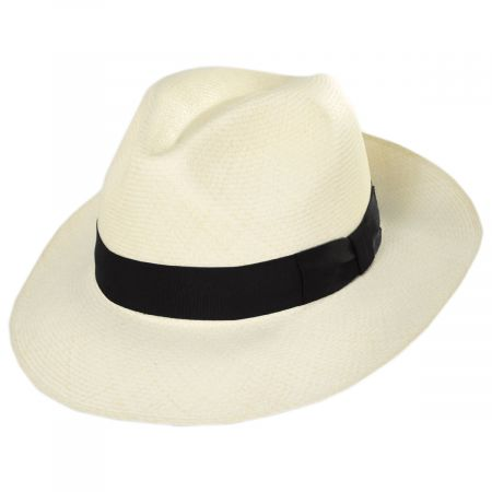 Diego Montecristi Fino Grade 20 Panama Straw Fedora Hat alternate view 25