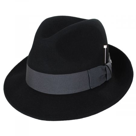 Highland Wool Felt Fedora Hat