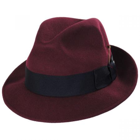 Stacy Adams Highland Wool Felt Fedora Hat
