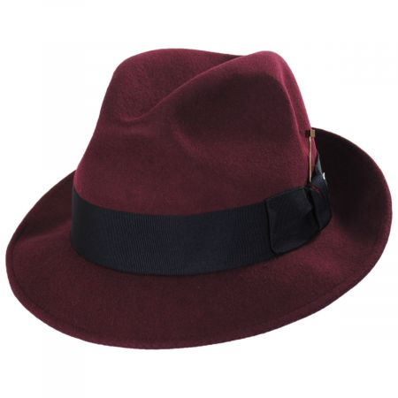 Highland Wool Felt Fedora Hat alternate view 13