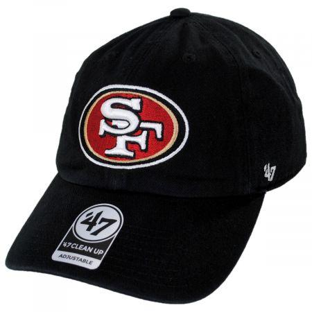 San Francisco 49ers NFL Clean Up Strapback Baseball Cap Dad Hat