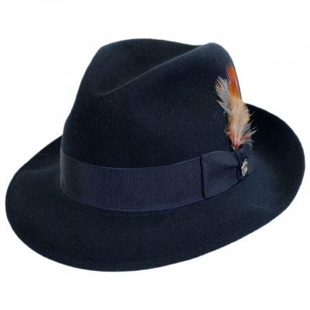 Saxon Fur Felt Fedora Hat alternate view 111