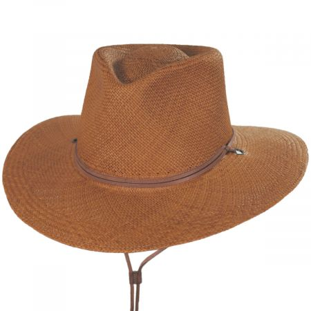 Kalahari Panama Straw Outback Hat alternate view 9