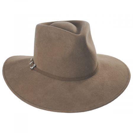Tear Drop Wool Felt Western Hat alternate view 9