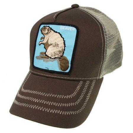 Goorin Bros Beaver Mesh Trucker Snapback Baseball Cap