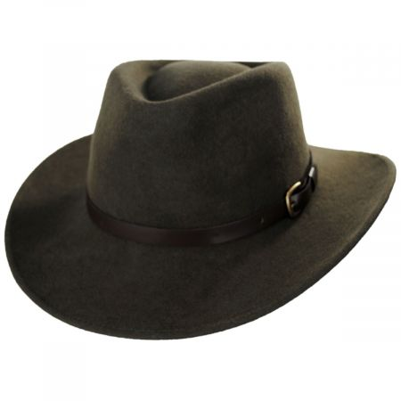 Melbourne Wool Felt Outback Hat alternate view 17