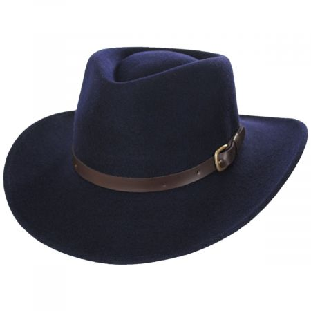 Bigalli Melbourne Wool Felt Outback Hat