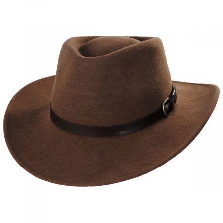 Melbourne Wool Felt Outback Hat alternate view 13