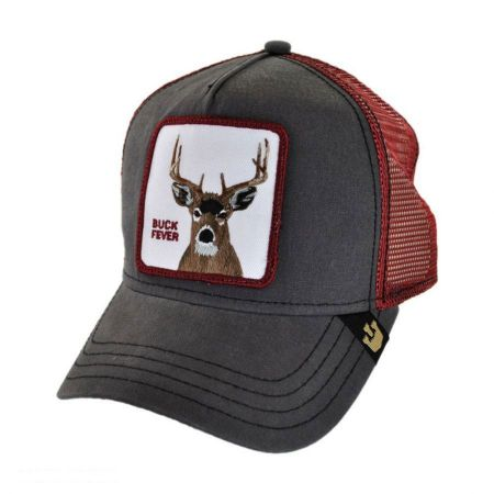 Buck Fever Mesh Trucker Snapback Baseball Cap alternate view 1