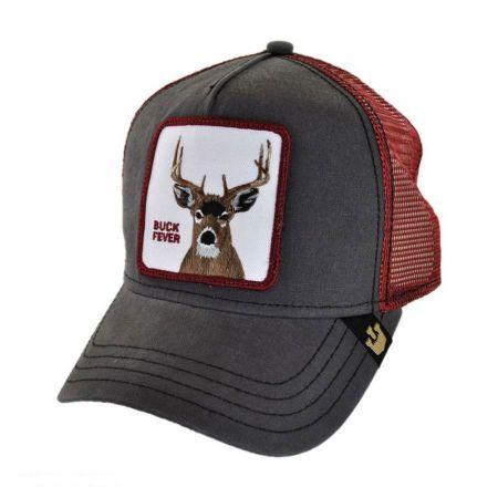 Buck Fever Mesh Trucker Snapback Baseball Cap alternate view 1