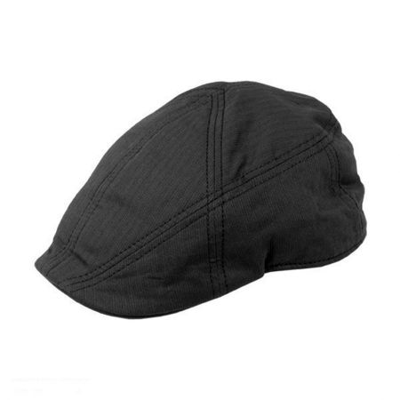 Burbank Black Cotton Ivy Cap