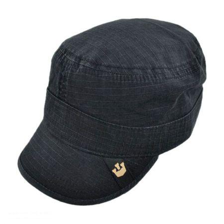 c5c75ebc806 Black Cadet Cap at Village Hat Shop