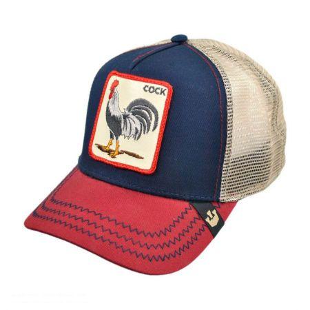 USA Cock Mesh Trucker Snapback Baseball Cap
