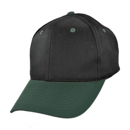 KC Caps Two-Tone Pro Cotton Twill Snapback Baseball Cap