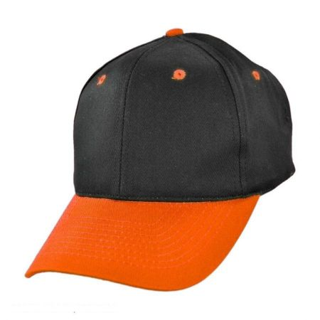 Two-Tone Pro Cotton Twill Snapback Baseball Cap alternate view 2