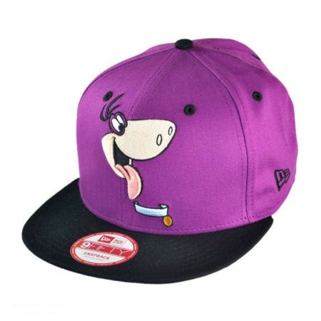 New Era Hanna Barbera Flintstones Dino Cabesa Punch 9FIFTY Snapback Baseball Cap