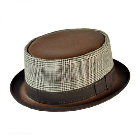 Bourbon Pork Pie Hat