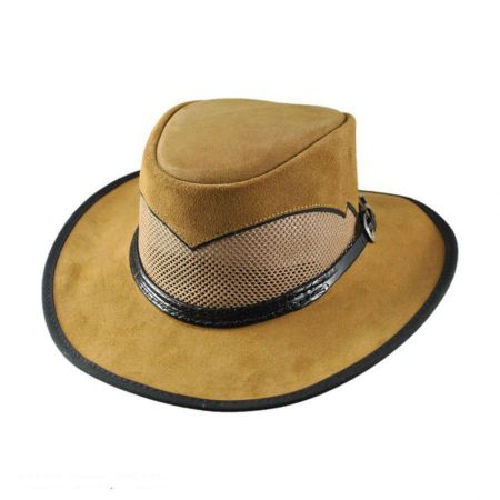 Cheyenne Suede and Mesh Western Hat alternate view 2