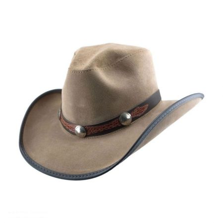 Head 'N Home Dallas Suede Western Hat