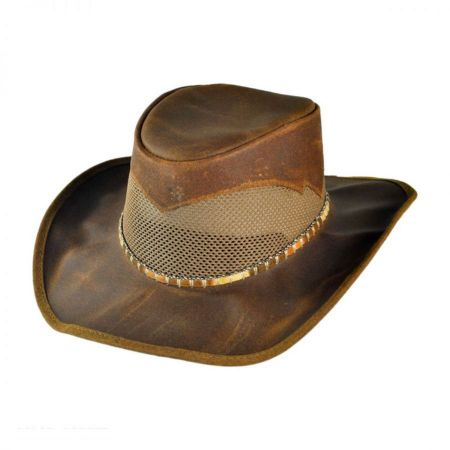Head 'N Home Durango Dapple Band Leather Western Hat