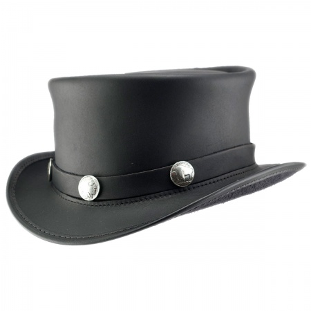 Head 'N Home El Dorado Leather Top Hat