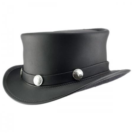 Head 'N Home El Dorado Leather Top Hat