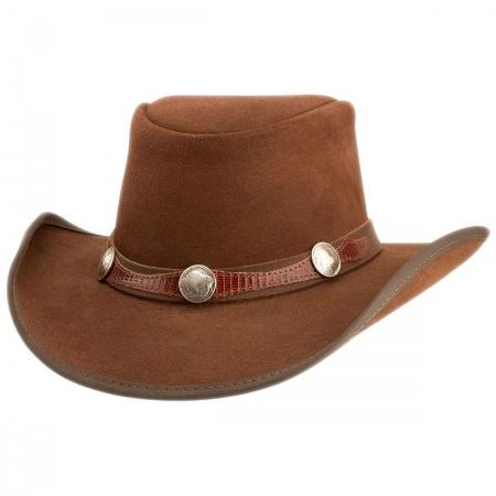 Head 'N Home Plainsman Suede Western Hat