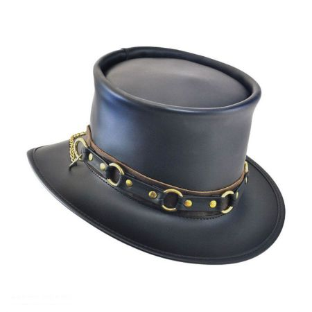 SR2 Leather Top Hat alternate view 1