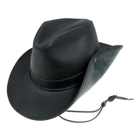 Aussie Leather Hat - 2X