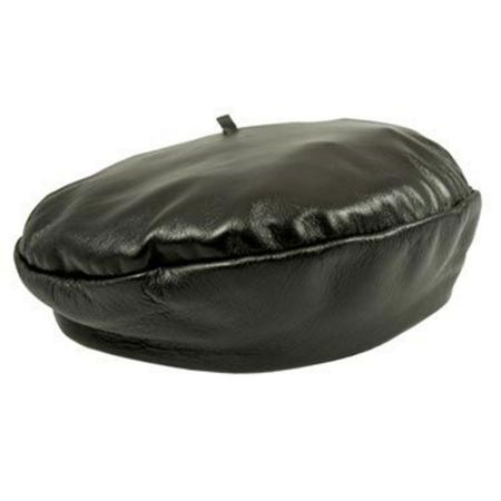 Henschel Leather French Beret