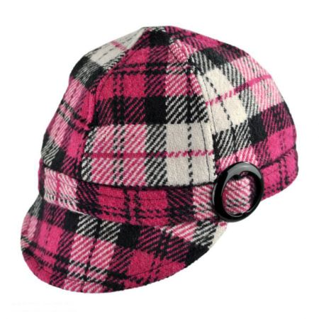 Plaid Jockey Cap - Child