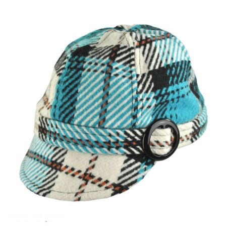 Hi-Dee-Ho Plaid Jockey Cap - Child