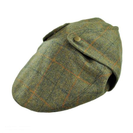 Hills Hats of New Zealand Overcheck Ivy Cap with Earflaps