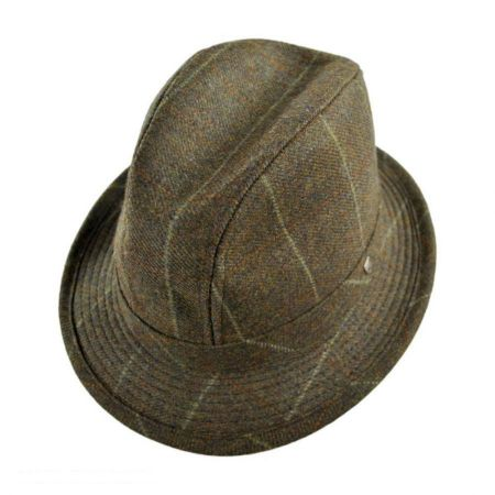 Hills Hats of New Zealand Overcheck Walking Fedora Hat