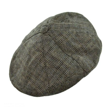 Hills Hats of New Zealand Plaid Newsboy Ivy Cap